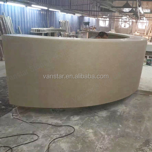 Customerized Design Used Marble Reception Desk,Modern Reception Counter