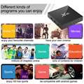Android mini pc X96 Android 6.0 Marshmallow Smart TV BOX Amlogic S905X android boxsoftware download set top box