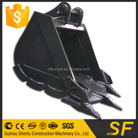 China supplier SF excavator dig bucket, construction parts for sale