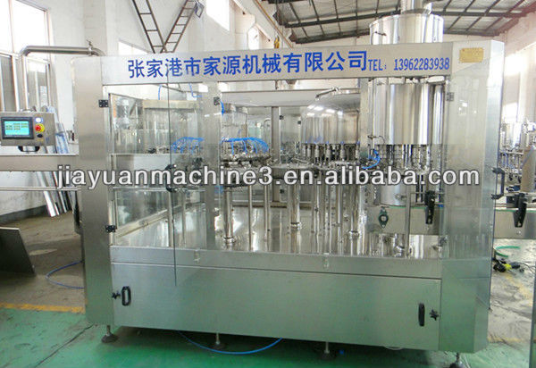 Automatic Plastic/Glass Bottle Mineral Water Manufacturing Plant