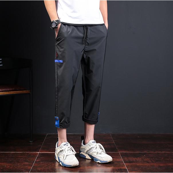 Cheap Custom 100% Polyester Men's Causal Cargo Pants Sport Track Pants