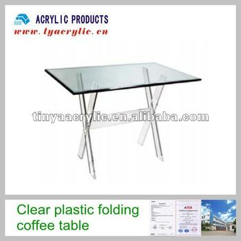 Clear Plastic Folding Coffee Tables Buy Clear Plastic Coffee Tables Acrylic Coffee Table