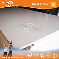 White Melamine Plywood Price / Melamine Paper Laminated Plywood