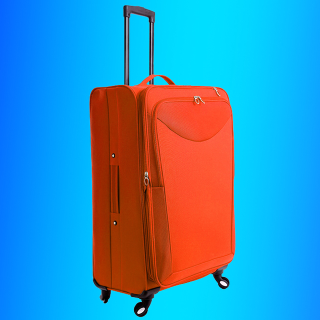 Stock lots Overstock joblots polyester trolleys luggage, surplus carry on cabin travel bag,excess inventory koffer suitcase set