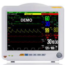 Handheld 6-Parameter ICU CCU Patient Monitor Cardiac Monitor with Lithium Battery