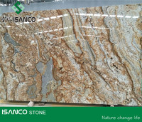 Polished Granite Big Slab African Canyon Golden Granite Big Slab