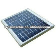 small solar panel 10W 12V poly crystalline