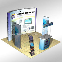 China 3x3m Standard Exhibition Event Booth Design