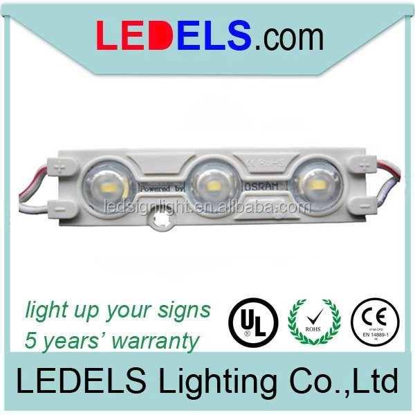 Peel and stick led lighting ip65 smd2835 signage material 160degree led modules for flexible sign letter