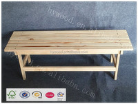 Rest Furniture Indoor Unfinished Simple Wood Single Bed