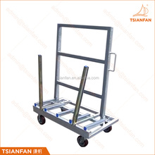 New style metal display rack glass and stone slab display rack A frame