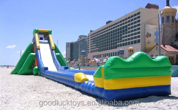 giant inflatable water park, slip and slide for adult