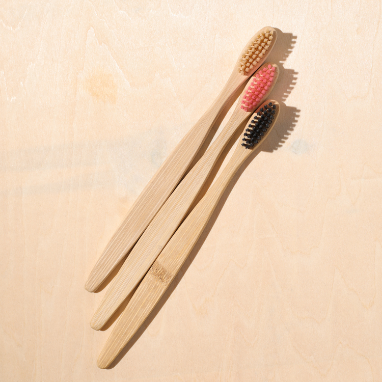 New Product Custom Packing and Logo <strong>Eco</strong>- friendly Biodegradable Bamboo Toothbrush