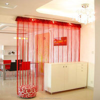 cheap decorative window string fringe curtain