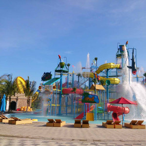 Amusement water Park Equipment for Water Slide