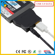 USB 3.0 to SATA 22Pin Adapter for Hard Disk Driver with power card