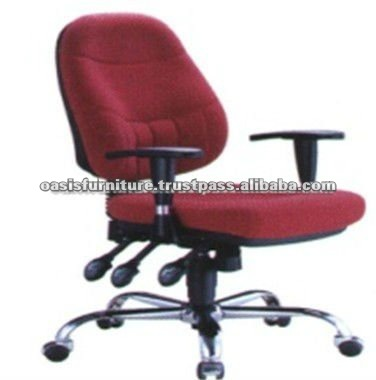 OASIS PLATINUM Cristo Mid Back Leather Swivel Office Chair