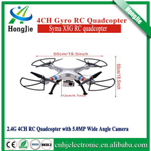 2015 New Version Syma X8G 2.4g 4ch 6 Axis Drone with 5mp 1080p Action Hd Camera, Rc Quadcopter RTF Helicopter
