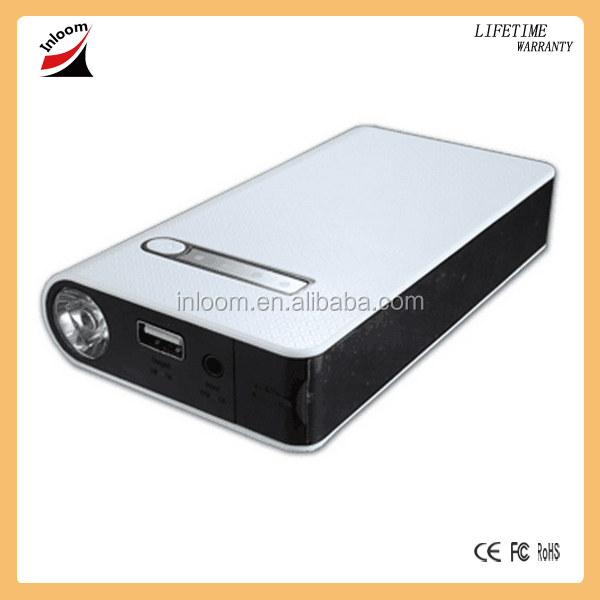 Thin Car Emergency Power bank, battery charger 8000mAh slim Mini Jump Starter 12v car jump starter Power Bank for Car Jump Start
