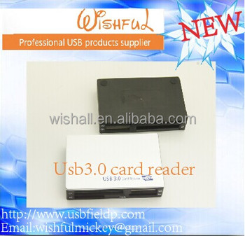 Premium Carbon Fiber Black Factory Directly All in 1 Hi Speed Multi USB 3.0 Card Reader Writer Super fast 5GPS