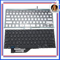 "Brand NEW 15.4"" Laptop US keyboard & backlight For Macbook Pro Retina A1398 MC975 MC976"