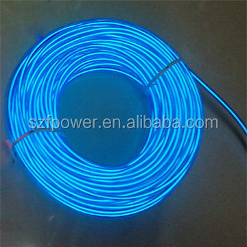 Manufacturer best selling 100 m el wire roll wholesale, el wire manufacturer making 100% waterproof