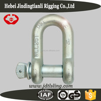 Drop Forged US D shackle G210 -25T