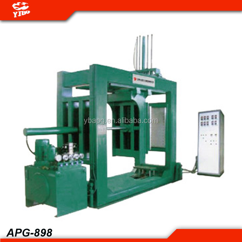 China transducer series 6KV-35KV pressure hydraulic moulding cnc control apg clamping machine
