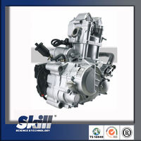 2016 Genuine zongshen 4 valves water-cooled 250cc atv engine with friction reverse gear