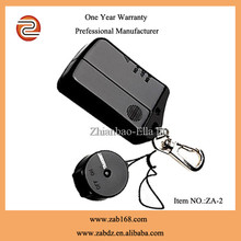 ZA-2, low price,wireless safeguard anti-lost alarm kits,small key finder,Black,for wallet/luggage/phone ,etc.