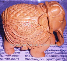 Carved ivory elephant