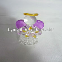 wholesale glass christmas angel ornaments,small glass angels
