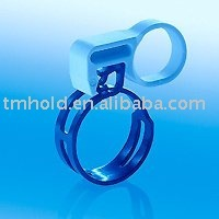 spring band hose clamp with handy clamp