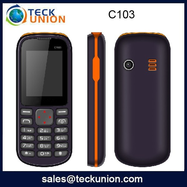 C103 1.8inch cheapest China mobile phone dual sim with all function newest style