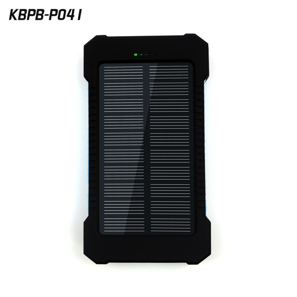 Mobile power supply 10000mAh Energy saving Solar Charger 2 Port