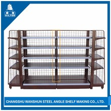Space saving factory direct retail wooden shoe display rack
