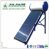 100L Compact high pressure copper heat pipe solar hot water heater, suitable for 2-3 members