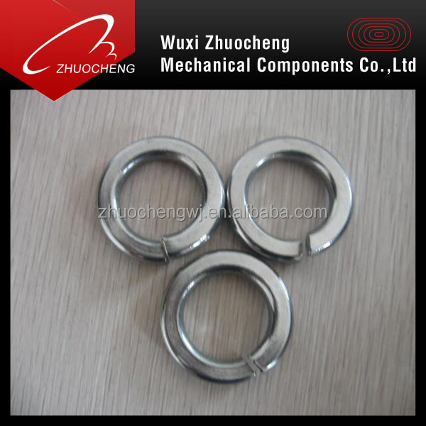 stainless steel a2 a4 din127 spring clip washer