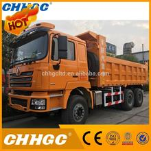 Heavy duty dump truck with FAST transmission