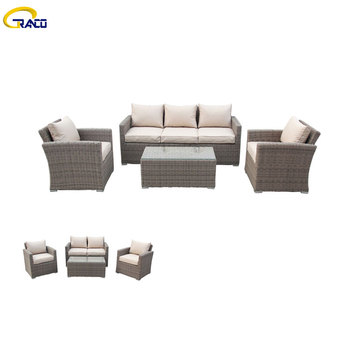 High quality leisure garden sofa rattan wicker garden sofa