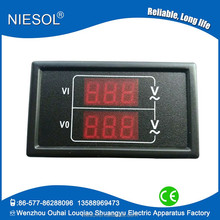 digital frequency display panel meters Self-powered ac meter