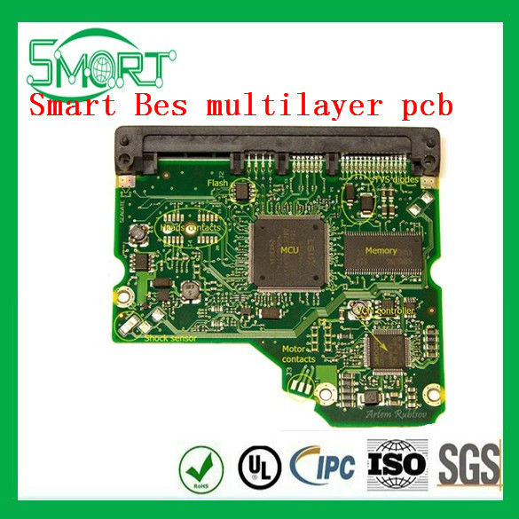 HOT~Smart bes gold-plated mobile pcb board and flexible pcb board