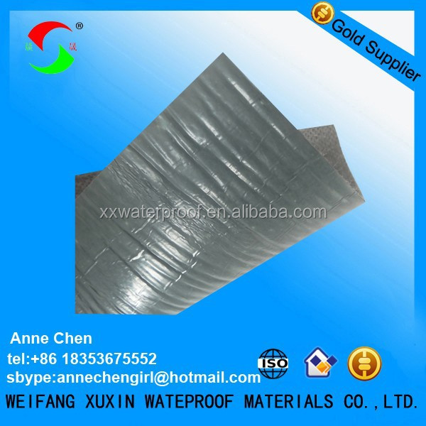 bitumen self adhesive roofing flashing tape