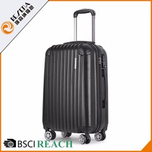 Factory Supply OEM ABS lightest baggage equipment travel case suitcases for cabin luggage