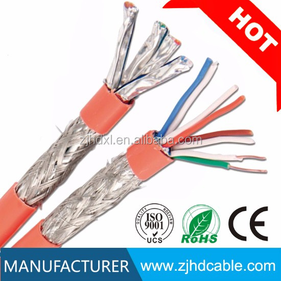 Factory CE/UL Certificated SFTP cat7 cat7a 1000ft Network Cable