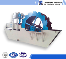 lzzg double bucket sand washing machine combined with recycling system