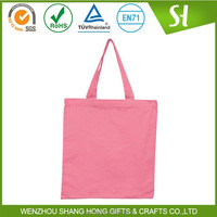 Alibaba China Customized Logo bulk plain white cotton canvas tote bag