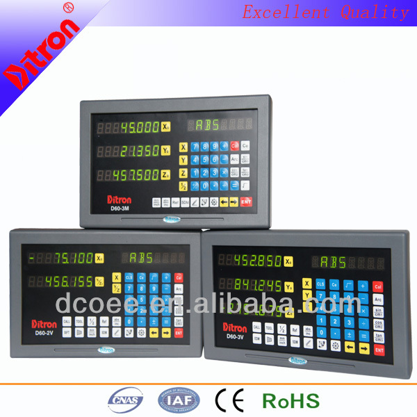 combination boring machine milling machine & lathe machine multi-function digital readout system