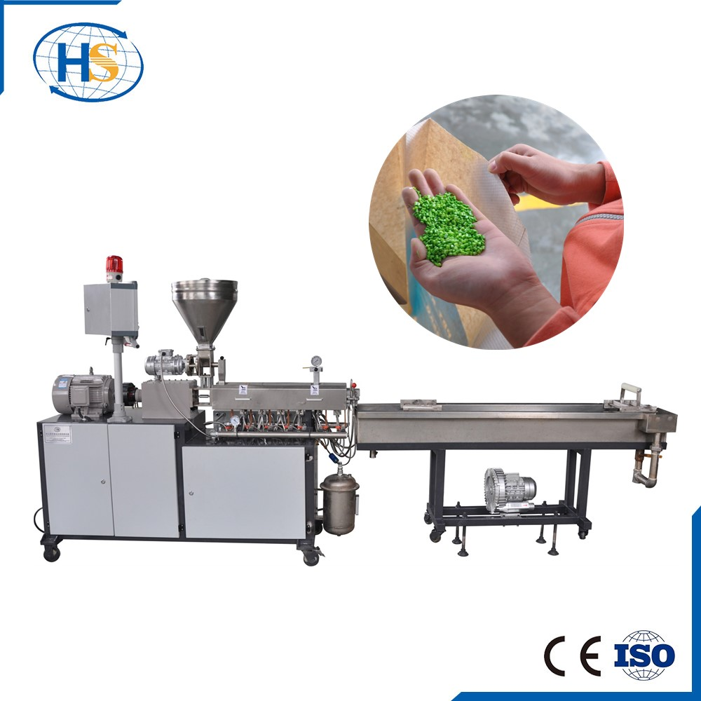 Plastic Granules Making Laboratory Extruder/Lab Twin Screw Exruder