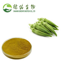 Natural Abelmoschus esculentus Extract Okra Extract powder dried Okra extract